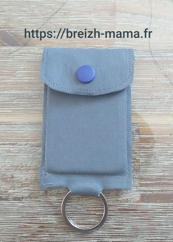 Porte clé carte de contact voiture 2