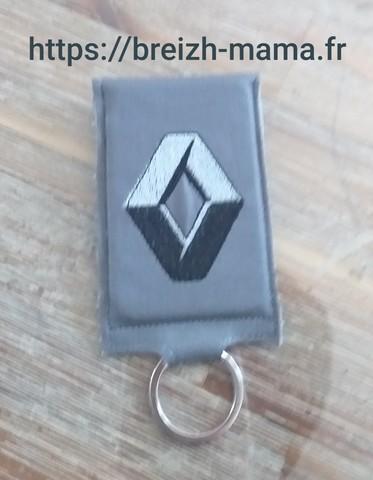 Porte clé carte de contact voiture 5