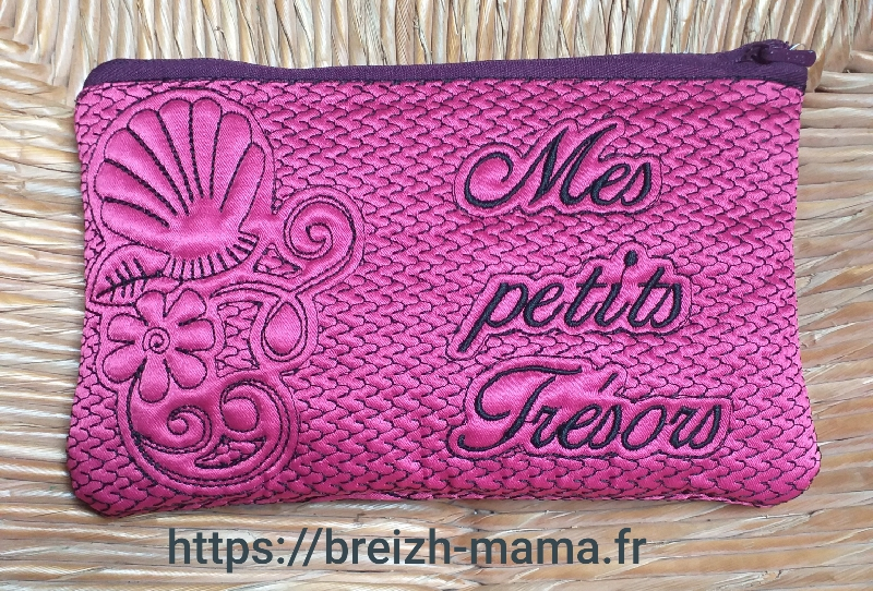 ITH trousse coquillage