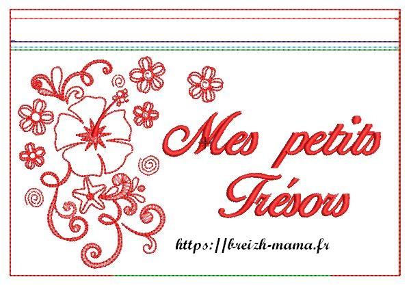 ITH trousse hibiscus recto