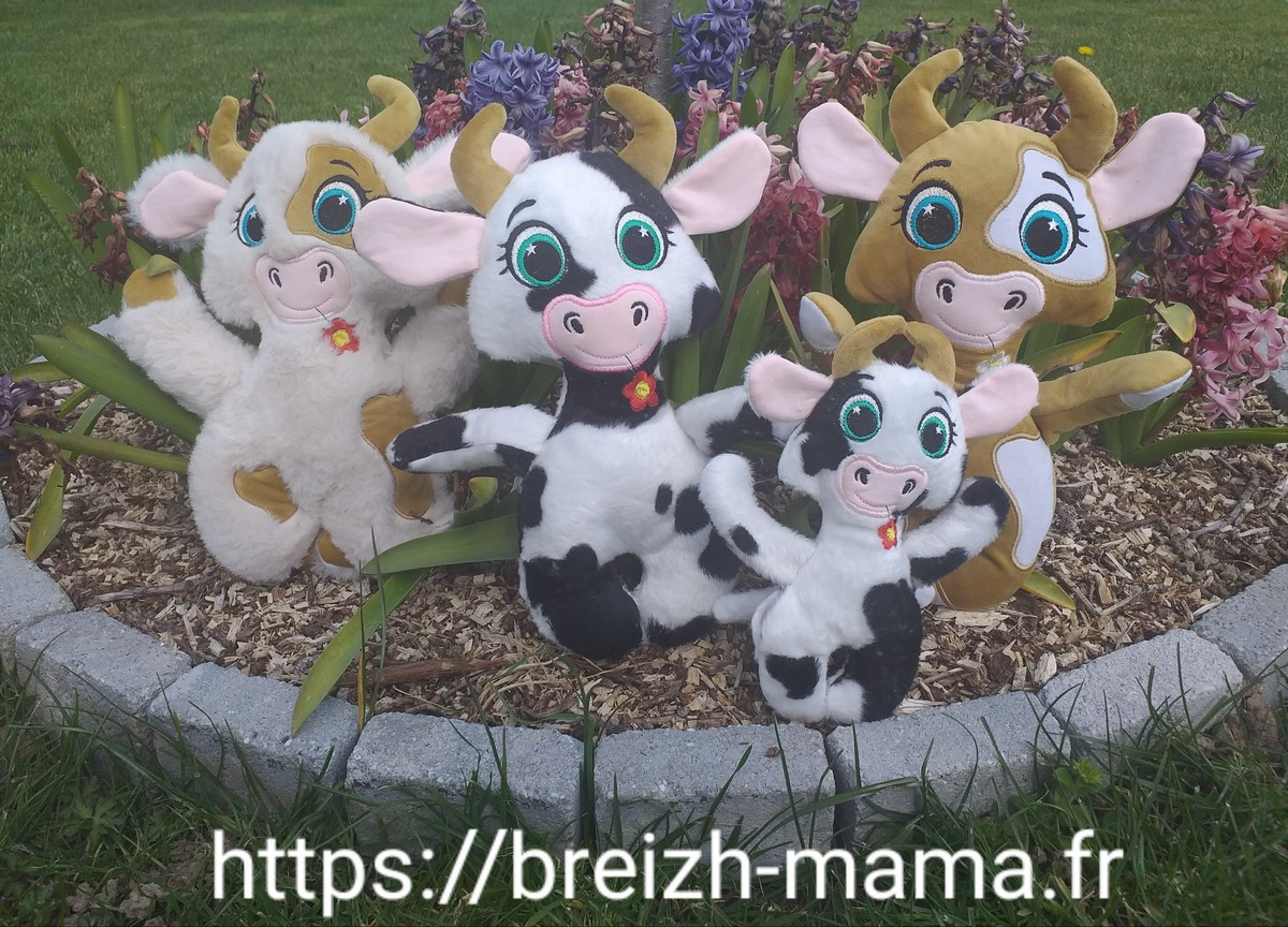 Doudoux vache ITH