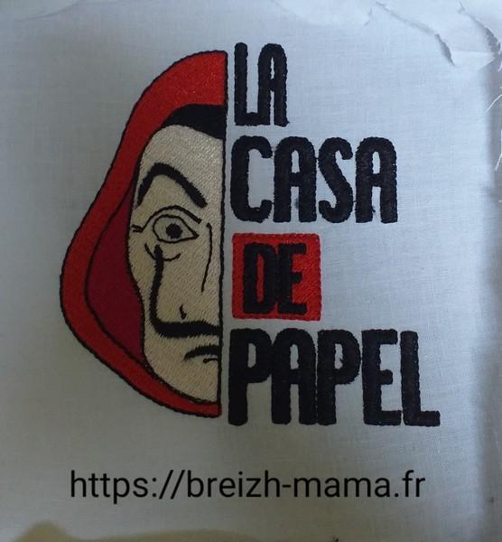Motif Broderie La Casa de Papel