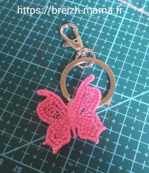 Porte clé papillon FSL