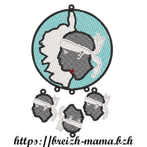 Broderie Attrape rêve FSL Corse 2