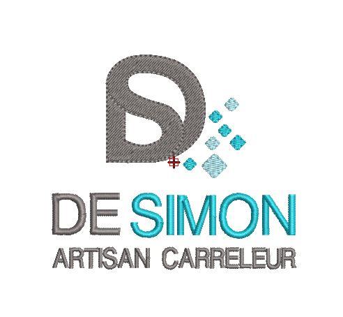 Motif broderie Logo DS