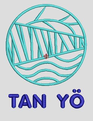 Motif broderie Logo TanYo