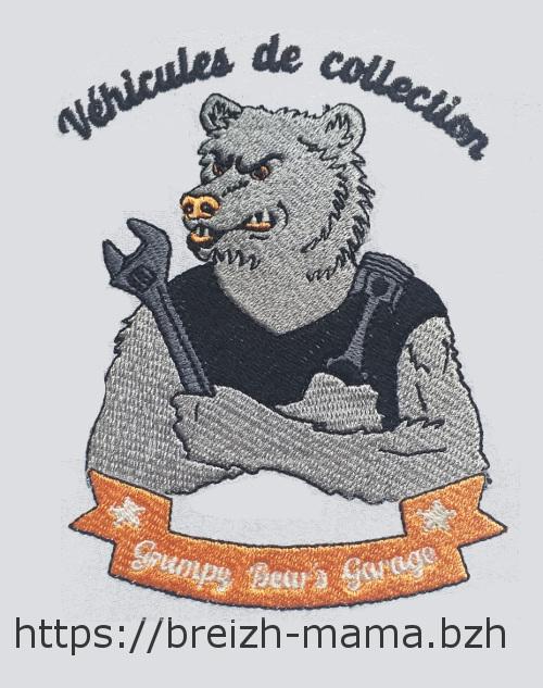 Logo grimpy Bear Garage